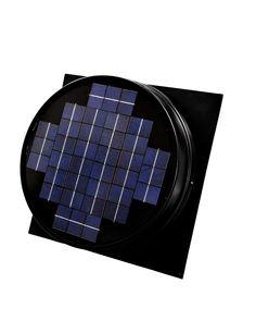 http://how-to-make-a-solar-panel.us/solar-fan.html Solar power ceiling fan ratings. Solar Attic Fan - Smart Energy Today