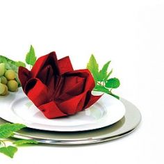 Napkin Folding Origami / Holiday Table Decorating