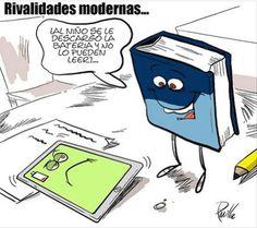 Rivalidades modernas: Libro vs ebook