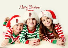 "Why would you have your kids pose with the word ""HO"" on their head?"