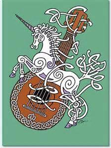 Unicorn and Lute