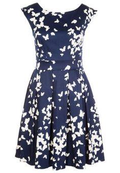 Bring mit diesem hübschen Kleid gute Laune in deinen Alltag! Closet Freizeitkleid - navy cream für 64,95 € (20.02.15) versandkostenfrei bei Zalando bestellen.