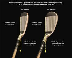 Golf Sayings How to use the Hand Position Alignment Marker Golf 6, Play Golf, Mens Golf, Golf Chipping Tips, Golf Putting Tips, Golf Practice, Golf Videos, Golf Drivers, Golf Instruction