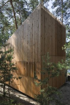 Refugium für einen Segler in Böhmen / Waldhaus am See - Architektur und Architekten - News / Meldungen / Nachrichten - BauNetz.de