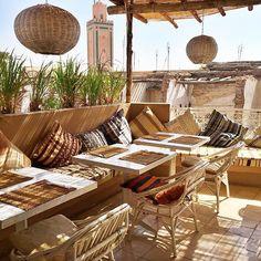 Atay Cafe Food - Marrakech