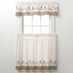 CHF & You Bird Tier Kitchen Curtains-for Robin Waltz... these are the kitchen curtains!!!
