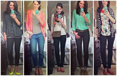 A Week's Worth of Casual Spring Outfits!!