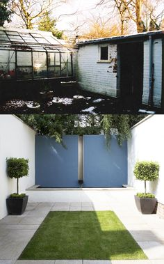 Before and After- Courtyard Transformation Transformation Images, John Evans, Interior Architecture, Interior Design, Environment, Outdoor Decor, Projects, Home Decor, Architecture Interior Design