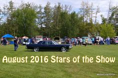 August 2016 MSCC Stars of the Show--great month. Go this link: http://mystarcollectorcar.com/august-2016-stars-of-the-show-its-the-back-nine-of-the-season/