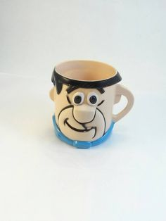 The Flintstones I Don/'t Yabba Dabba Doo Mornings Coffee Mug NEW UNUSED
