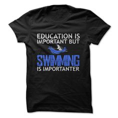 Is Swimming Important To You? Education is important but swimming is importanter. #loves #swim