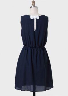 Portola Valley Bow Back Dress   Modern Vintage Dresses   Modern Vintage Clothing