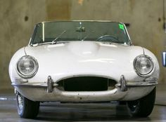 Jaguar XKE (stolen and returned to its rightful owner 40 years later)