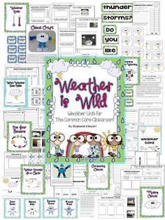 Weather is Wild. Need this for our weather unit!