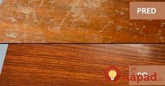 Výborné zlepšováky do každej jednej domácnosti. Pridávam ich sem práve preto, pretože som prednedávnom sama potrebovala odstrániť nedokonalosti a drobné škrabance z plávajúcej podlahy. Stačí naniesť na povrch a podlaha bude vyzerať neporovnateľne lepšie. Odstráňte škrabance z dreveného nábytku Potrebujeme: pol pohára octu pol pohára olivového oleja Zmiešajte ingrediencie a namažte ich na poškriabanom povrchu... Home Hacks, Bamboo Cutting Board, Good Things, Home Decor, Tips, Decoration Home, Room Decor, Home Interior Design, Home Decoration