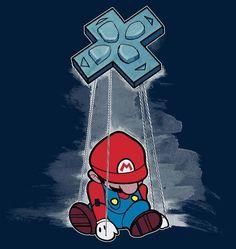 """""""Puppet Mario"""" - #retrogaming"""