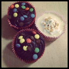 Chocolate and Sicilian Lemon Cupcakes