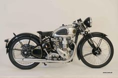 bsa motorcycles   Another KM24 in Austria..restored in 2011