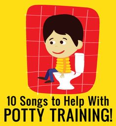"For my Fruit and Twinkie :) 10 Songs to Help Your Toddler While Potty Training | Toddler Times    I may have to try this.  When my daughter asks to sit on the potty the first words out of her mouth after sitting down are ""sing a song."""