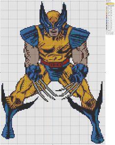 X-Men – Wolverine » Birdie Stitching