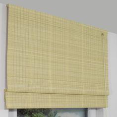 Bambusrollo Als Raffrollo Variante In Der Farbe Birke