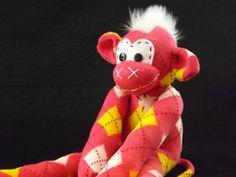 Handmade sock monkey : Ella  The original handmade by ChikiMonkeys