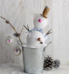 Decora esferas con personajes navideños - Dale Detalles
