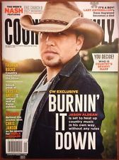 Country Weekly Jason Aldean Chris Janson Crystal Gayle Oct 2014