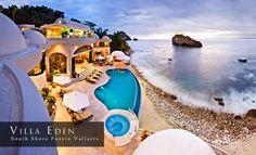 Puerto Vallarta Seafront Pool Villa - Villa Eden - Villa Rentals,