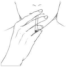 Hand Reference, Art Reference Poses, Drawing Reference, Drawing Techniques, Drawing Tips, Art Sketches, Art Drawings, Manga Poses, Manga Tutorial