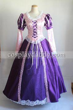 Rapunzel Tangled Princess Tangled Costume Cosplay Costume rapunzel dress adult