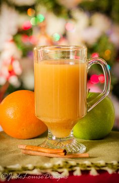 Caramel Apple Wassail Recipe, Easy family Holiday drink Alcohol Free.