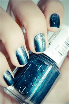 WANT IT :: Essie Dive Bar w/ Maybelline MNY 142 for the glitter
