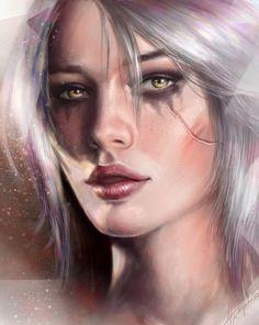 Ciri by aynnart.deviantart.com on @DeviantArt