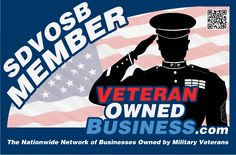 New Service Disabled Veteran Owned Small Business (SDVOSB) Member Badge