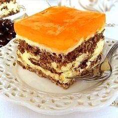Bakaliowe, nie za słodkie, rarytas ! Polish Desserts, Polish Recipes, Sweet Recipes, Cake Recipes, Dessert Recipes, Cake Cookies, Cupcake Cakes, Food Categories, Homemade Cakes