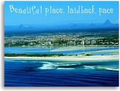 "#airnzsunshine we love Caloundra...the caption says it all ""beautiful place, laidback pace"""