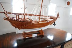 The designer finally e-mailed me back~ He told me that my designs remind him of the Arab Dhow.. I had no idea what kind of ship that was, so I looked it up.. & I LOVE IT!!! XD This ship is very cl