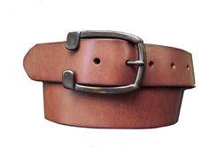 Harness Belt in Vintage Brown