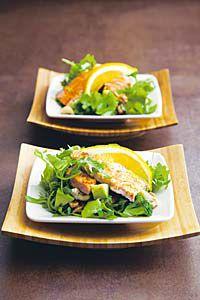 Appelsiini-lohisalaatti | Reseptit | Valintatalo