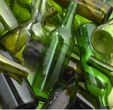 How to Cut a Glass Bottle Using a String http://www.ehow.com/how_5073800_cut-glass-bottle-using-string.html