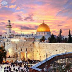The #WesternWall, sometimes referred to as the #WailingWall is a famous Jewish religious site located in the Old City of #Jerusalem. It was constructed in 19 BC by Herod the Great. It is now the most pious site amongst the Jews as it is the closest permitted access to the holiest spot in Judaism.