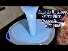 SABÃO ULTRA CONCENTRADO TIPO OMO - YouTube Soap, Cleaning, Organization, Lens, Diy, Desserts, Youtube, Homemade Syrup, Household Cleaning Products
