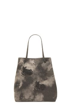 The Marc Jacobs B.Y.O.T. Printed Denim Cat Tote