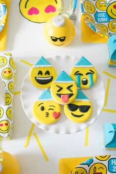 165 Best Emoji Party Ideas Images In 2019