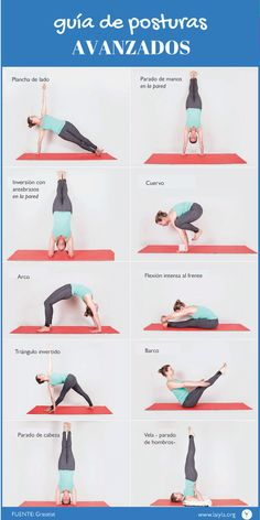 Guía de posturas - infográficos - - Asociación de Instructores de Yoga Latinoamérica