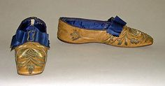 Slippers, 1850s. American or European. Leather. Metropolitan Museum of Art.