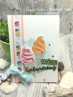 Liebst Du auch Eis? – Kreativ mit Tanja – Workshops und Shop für Stempel, Stanzen, Papier