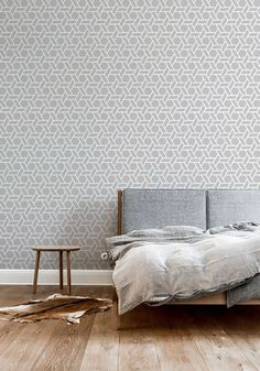 Self adhesive vinyl wallpaper, wall decal - Geometric Hex  print  - 029 SNOW/ WHISPER by Betapet on Etsy https://www.etsy.com/il-en/listing/258619940/self-adhesive-vinyl-wallpaper-wall-decal