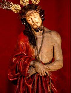 El Señor de la Sentencia. Atribuido a José de Mora (hacia 1700). IGLESIA DE SAN PEDRO Y SAN PABLO